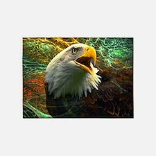 Screaming Eagle 5'x7'Area Rug