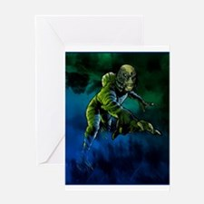 Creature from the Black Lagoon Greeting Cards