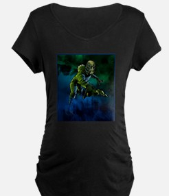 Creature from the Black Lagoon Maternity T-Shirt