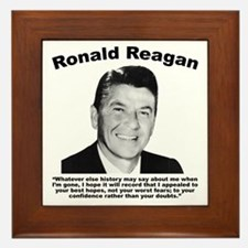 Reagan: Legacy Framed Tile