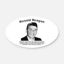 Reagan: Legacy Oval Car Magnet