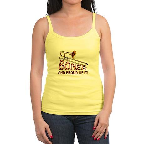 Boner & Proud of It Jr. Spaghetti Tank