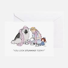 Keesie Tea Party Greeting Card