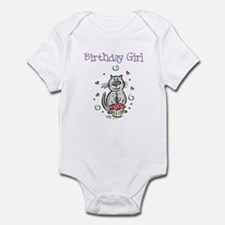 Birthday Girl Cat - Infant Bodysuit