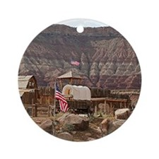 Fort Zion, Virgin, Utah, USA Ornament (Round)