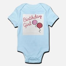 Birthday Girl Balloon - Infant Bodysuit