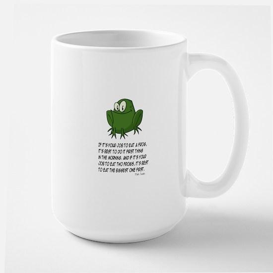 EAT A FROG. MARK TWAIN Mugs