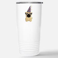 Party Pug Travel Mug