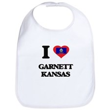 I love Garnett Kansas Bib