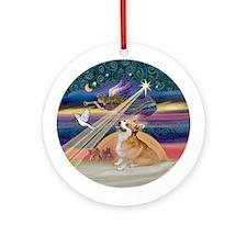 Xmas Star - Corgi (Pem7B) Ornament (Round)