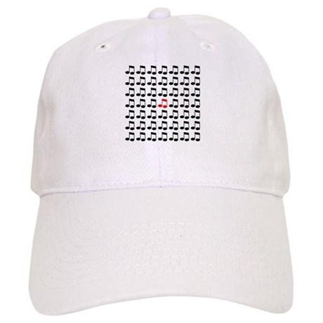 Eighth Notes Pattern Gifts an Cap