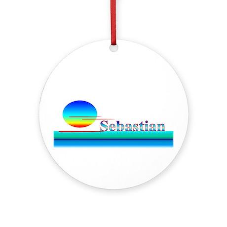 Sebastian Ornament (Round)