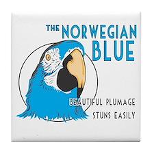 Norwegian Blue Tile Coaster
