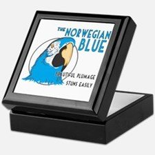 Norwegian Blue Keepsake Box
