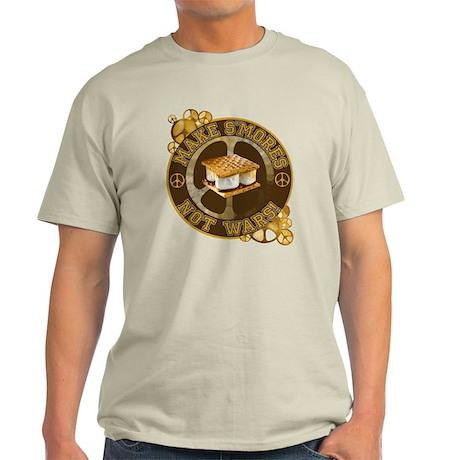 Make Smores Not Wars Light T-Shirt