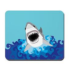 Shark Attack Mousepad