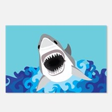 Shark Attack Postcards (Package of 8)
