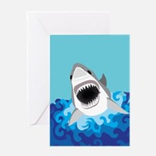 Shark Attack Greeting Cards