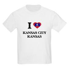 I love Kansas City Kansas T-Shirt