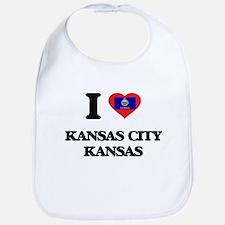 I love Kansas City Kansas Bib