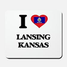 I love Lansing Kansas Mousepad