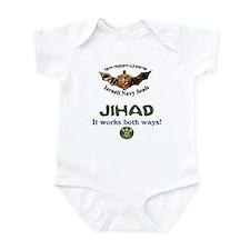 IDF Seals JIHAD Infant Bodysuit