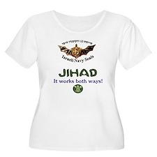 IDF Seals JIHAD Women's Plus Size Scoop Neck Tee