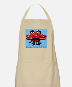 Beauty is only shell deep BBQ Apron