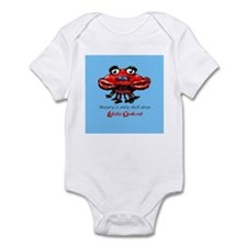 Beauty is only shell deep Infant Bodysuit