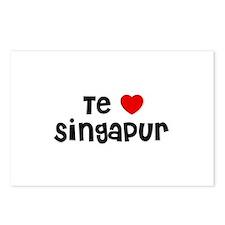 Te * Singapur Postcards (Package of 8)