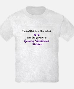 God Gave Me A German SH Pointer T-Shirt
