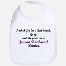 God Gave Me A German SH Pointer Bib
