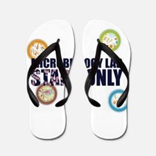 Microbiology Lab Staph Only Flip Flops
