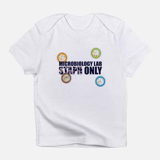Microbiology Lab Staph Only Infant T-Shirt