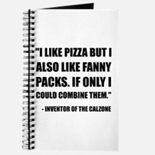 Pizza Fanny Pack Calzone Journal
