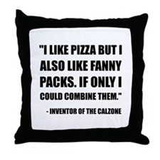 Pizza Fanny Pack Calzone Throw Pillow