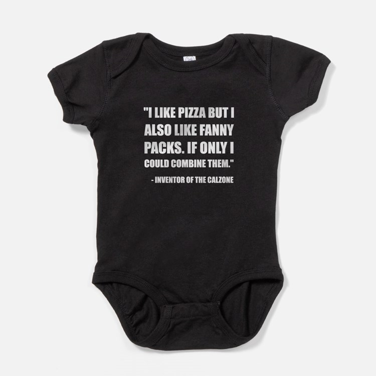 Pizza Fanny Pack Calzone Baby Bodysuit