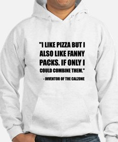 Pizza Fanny Pack Calzone Hoodie