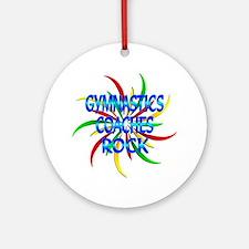 Gymnastics Coaches Rock Ornament (Round)