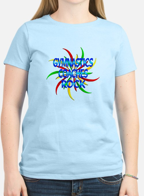 Gymnastics Coaches Rock T-Shirt