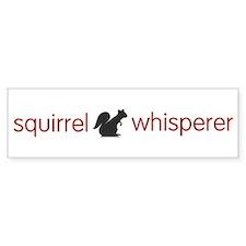 squirrel-light Bumper Bumper Sticker