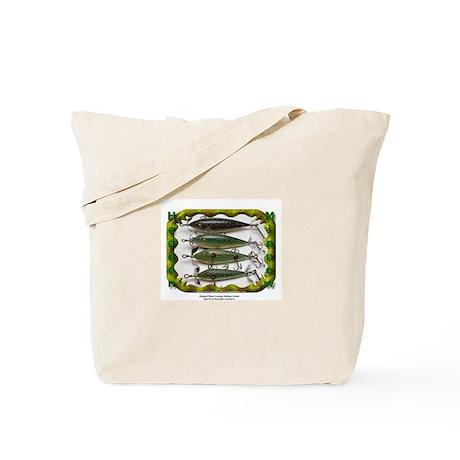 Heddon Minnows Tote Bag