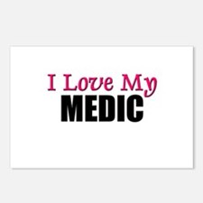 I Love My MEDIC Postcards (Package of 8)