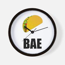 Taco Bae Wall Clock