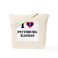 I love Pittsburg Kansas Tote Bag