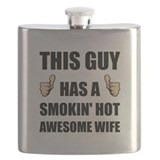 Husband and wife Flask Bottles