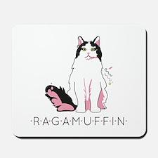 Ragamuffin cat Mousepad