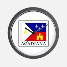 Acadiana Wall Clock
