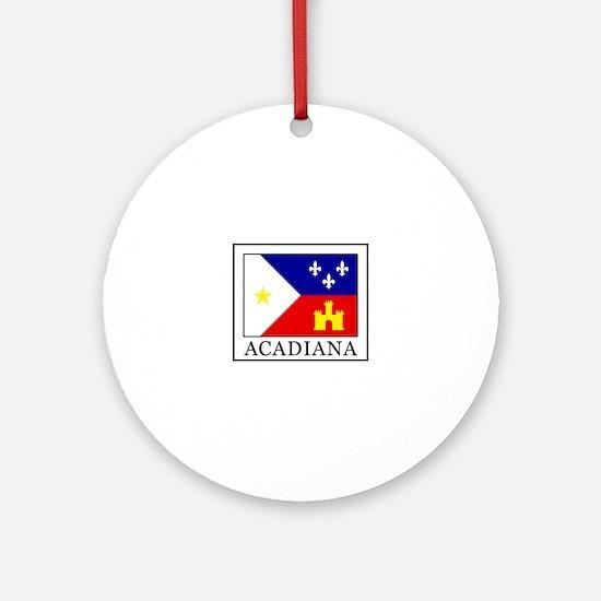 Acadiana Ornament (Round)
