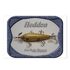 Heddon Fat Body Postcards (Package of 8)